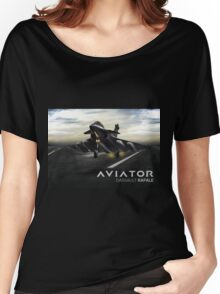 Dassault Rafale Fighter Jet Women's Relaxed Fit T-Shirt