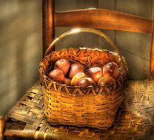 Fresh Peaches by Mike  Savad