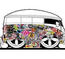 Old Skool VW Camper  by sirllamalot