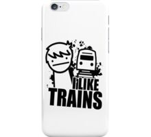 I Like Trains! iPhone Case/Skin