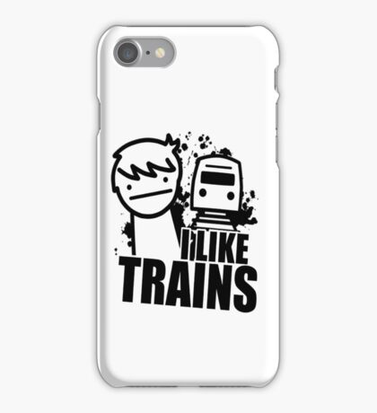 I Like Trains! iPhone Case/Skin