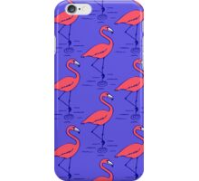 Fifties Flamingo iPhone Case/Skin