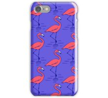 Fifties Flamingo iPhone Case/Skin
