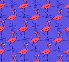 Fifties Flamingo by dukepope