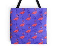 Fifties Flamingo Tote Bag