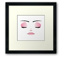 Unhappy Face 3 Framed Print