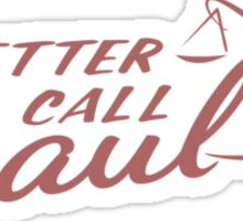 Better Call Saul Logo Sticker