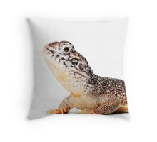 Central Netted Dragon [Ctenophorus nuchalis] Throw Pillow