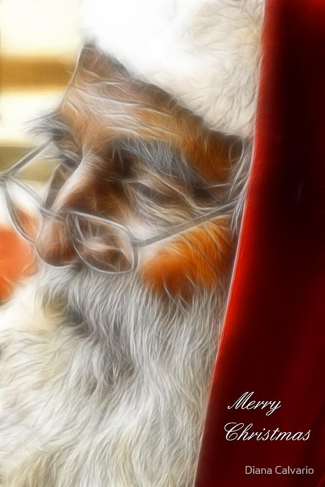 Christmas card 2012 by Diana Calvario