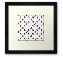 Beautifully Designed Bird Breed Images Framed Print