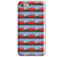 Funky Classic Automobile Collage Art iPhone Case/Skin
