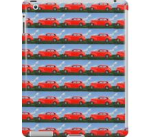Funky Classic Automobile Collage Art iPad Case/Skin