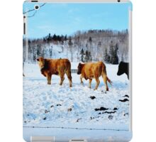 Heading Home After Dinning Out iPad Case/Skin