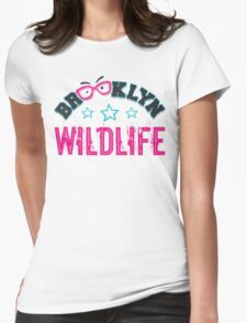 Brooklyn Wildlife Party Womens Fitted T-Shirt
