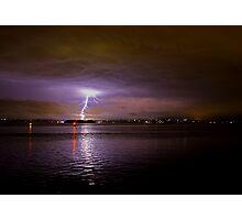 Late night storm Photographic Print