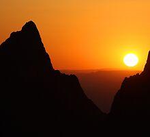 Sunset at the Window by William C. Gladish