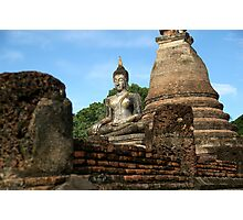 Buddhist Centered Existence Photographic Print