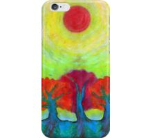 The Sun Three iPhone Case/Skin
