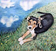 Puppy Max by Nicole Zeug