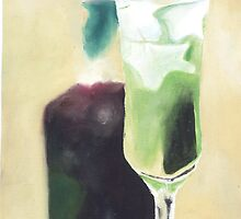 green cocktail by armanda