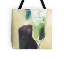 green cocktail Tote Bag