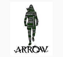 Oliver Queen Arrow Typography T-Shirt