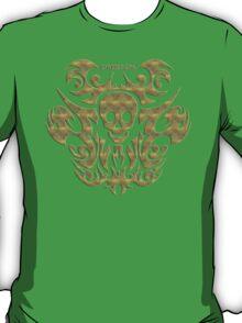 skull tattoo - mystical, humor, funny, underground T-Shirt