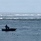 Two Fishermen at Sea by John Kroetch