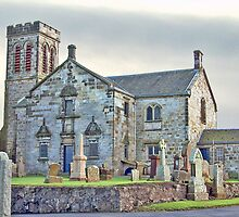 Dunlop Parish Kirk by Stuart  Fellowes