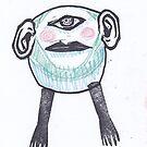 Big Blue Cyclops by craftyhag