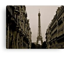 Paris, Step Back in Time Canvas Print