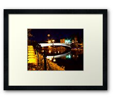 Lendal Bridge - York Framed Print