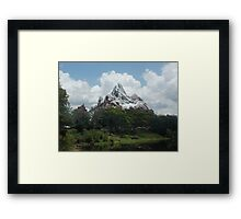 Mount Everest- Disney World Framed Print