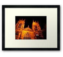 The Minster - York Framed Print