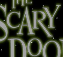 The Scary Door Sticker
