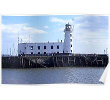 Scarborough Lighthouse. Poster