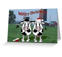 Cattle and Farm Greeting Card