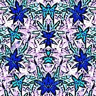 Voodoo Lavender and Aqua Blues by rokinronda