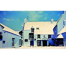 The Cross Keys, Peebles (digitally enhanced photograph) Photographic Print