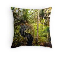 Australian Grass Tree Throw Pillow