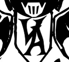 Vampire Art. Share the hate! Sticker