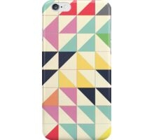 Triangles and Squares III iPhone Case/Skin