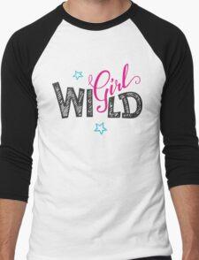 Wild Girl Men's Baseball ¾ T-Shirt