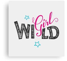 Wild Girl Canvas Print