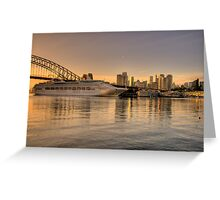 Morning Arrival - Moods Of A City - The HDR Experience Greeting Card