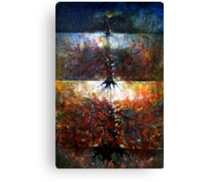 The Fire Of Forest -The Fire Of Heart Canvas Print