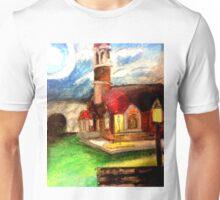 The chapel  Unisex T-Shirt