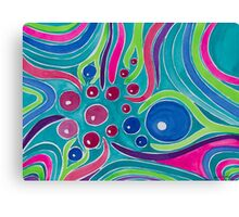 Synaptic Ends Canvas Print