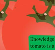 tomato swag Sticker