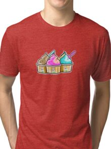 cool cow ice creams Tri-blend T-Shirt